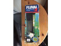 Fluval underwater filter 4