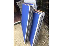 9 office/room dividers with 7 feet
