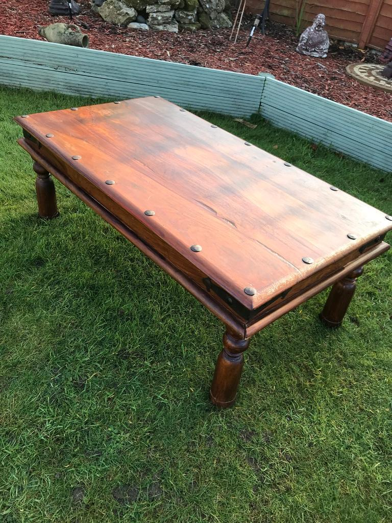 Eastern hardwood coffee table ( can deliver )