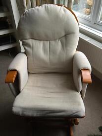 Nursing chair and footstool - need repair