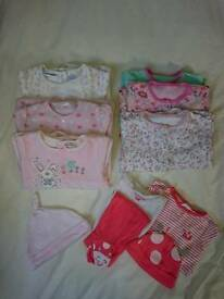 Baby Clothes Bundle & Sleeping Bag, 3-6/6-9 months