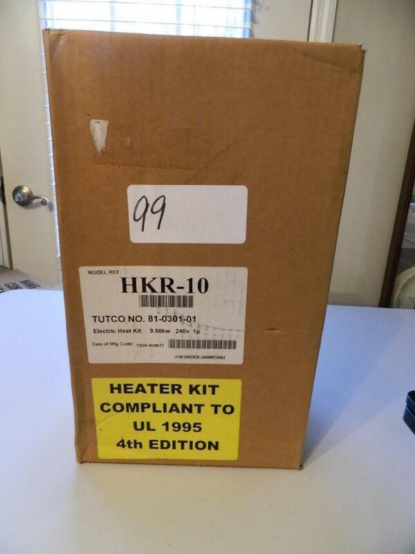 NEW TUTCO HEATER HKR-10 9.5kw 240v 1ph