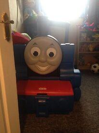 Little tykes Thomas tank engine bed