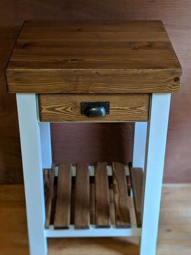 New Butcher S Block Style Kitchen Side Breakfast Island Table Solid 4 Top In Brigg Lincolnshire Gumtree