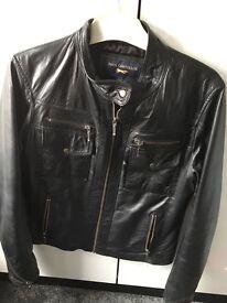Paul Costelloe leather jacket size 12