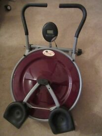 Ab Circle Pro Home Fitness Machine Exercise Training with fitness computer