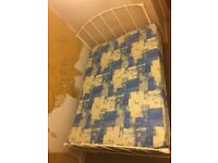 Double bed with mattress very good condition