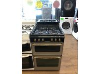 STOVES 55CM ALL GAS COOKER SILIVER WITH LID
