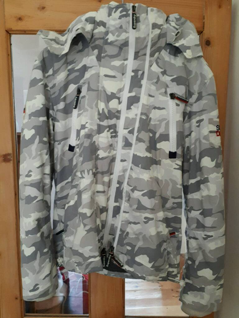 Superdry The wind yachter cammo men's jacket