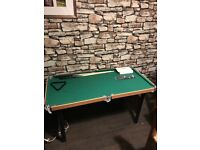 4ft kids wooden pool table