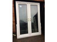 French doors 57.5x81 inches