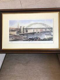 The Tyne painting by Dallas K Taylor