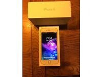 Silver iPhone 6 128gb unlocked to any network