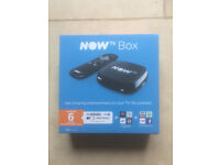 Now TV box - new and unused