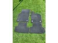 Audi Q2 floor mats (carpet)
