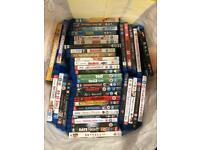 Job lot of Blu rays x45 and 2 DVD's