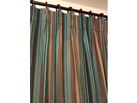 """Two pairs or one pair of 57""""x57"""" curtains"""