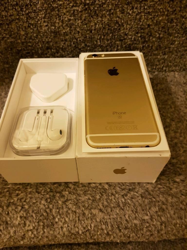 IPhone 6s 64gb Gold Unlocked ( Brilliant )