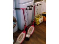 2 razor electric scooters 2 for £10