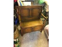 Monks bench table