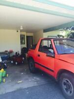 Chevy Tracker 4x4 low kms convertible
