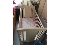 Baby Cot - Adjustable Base
