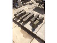 Granite kerb stones - rockery architectural