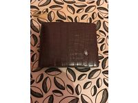 Mont Blanc Extremely Leather Wallet Mens Brand New