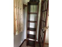 Dark Wood tall Bookcase