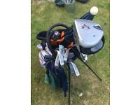 MacGregor golf clubs in new Calloway bag
