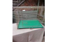 Wire dog crate - would suit labrador size dog