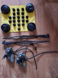 2004 Ford Transit Wheel hubs,rear wiper arms,motor and nut covers
