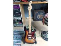 3 Tone Sunburst Stratocaster for sale