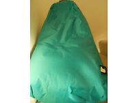 Bean-bag chair - French blue, unused , in bag.