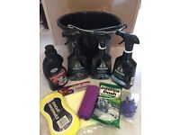 CAR CLEANING VALET KITS 10 BRANDED PRODUCTS FOR £15