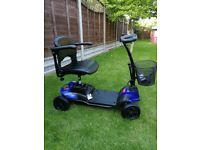 Drive Strider ST1 mobility scooter 4 mph Folding compact, 4 months old *part exchange welcome*