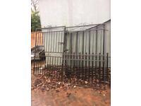 9ft x 6ft metal driveway gates
