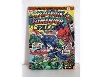 Captain America and the falcon canvas.