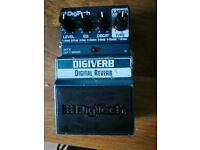 Digitech Digiverb reverb pedal