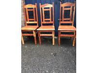 Top quality wooden chairs