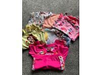 Girls swimming costume bundle. Age 2-3