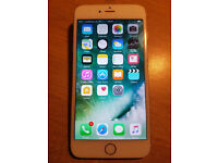 iPhone 6 Plus Rose Gold 16gb on Vodafone