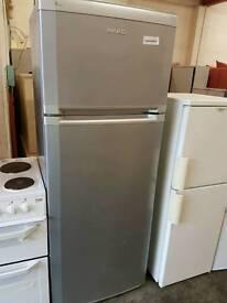 Beko large silver fridge freezer