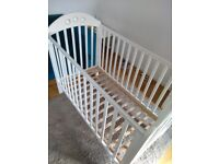 Mothercare Playbead Cot (White)