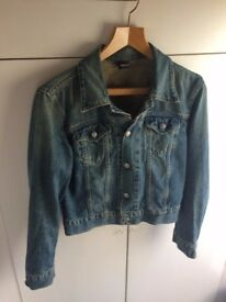 Diesel denim jacket / size small
