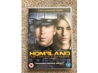 Homeland DVD, the complete first season