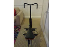 Total Full Body Fitness Abdominal Crunch Horse Rider Machine