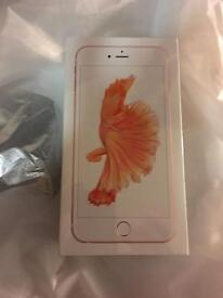 **New unopened **iPhone 6S Plus , 32gb , Rose Gold, Open network/ Sim Free