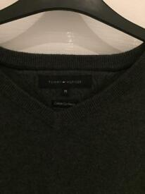Dark grey Tommy Hilfiger mens jumper
