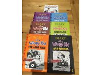 Diary of a Wimpy Kid Books X 7